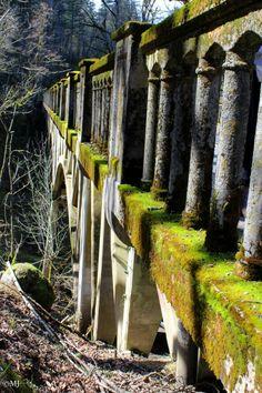 The bridge at Latourelle Falls