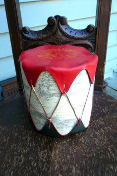 Vintage Toy Drum