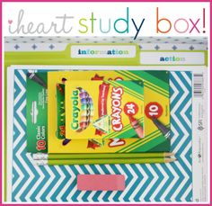 IHeart Organizing: A Superstar Study Box