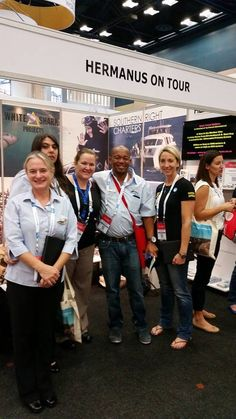 Soli Madikane pays a visit to our stand