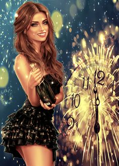 Happy New Year Baby, Happy New Year Images, Happy New Year Greetings, New Year Wishes, Happy New Year 2020, Merry Christmas Gif, Christmas Flyer, Christmas And New Year, Happy New Year Fireworks