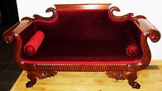 For Sale: A beautiful highly carved walnut victorian settee. A great piece of early victorian antique furniture in excellent condition. Victorian Furniture, Victorian Decor, Victorian Era, Antique Furniture, Antique Desk, Wooden Furniture, Gothic Interior, Antique Interior, Dream Furniture