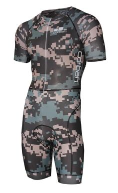 026dc0888 The Weekend Warrior Camo XC Cycling Racesuit