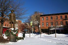 Fowler Square, Brooklyn, New York  photo by Keith Getter