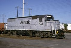 GP-38 Switcher Adams Station NJ  May 11, 2002 Locomotive, Goats, Diesel, Yard, Train, Modern, Trains, Diesel Fuel, Patio