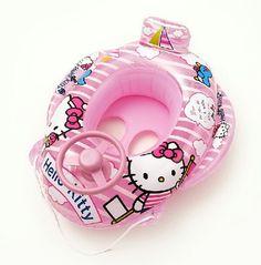 Hello kitty baby pool floaty