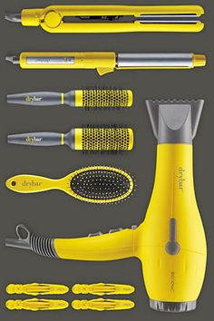 Now Available: Drybar's Hair Tools! Drybar just launched their own collection of hair tools! Get details on the line here, and shop more must-have hair tools. Natural Hair Care, Natural Hair Styles, Long Hair Styles, Drybar Hair Dryer, Hair Kit, Hair Supplies, Hair Styler, Cosmetology, Hair Hacks