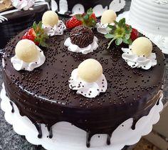 Torta de Brigadeiro com Leite Ninho (em Polos Pães e Doces)
