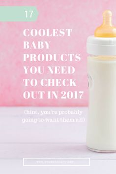 17 Coolest Baby Products You Need To Check Out In 2017 | Momma Society-The Community of Modern Moms