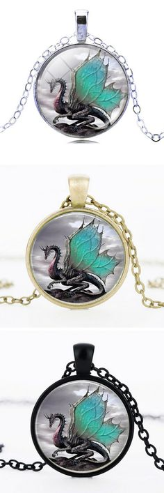 Love Dragons? This this dragon necklace is for you. Grab yours now at 50% off!