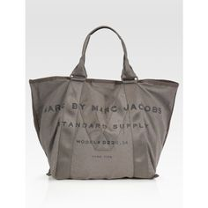 Marc by Marc Jacobs M Standard Supply Canvas Tote Bag