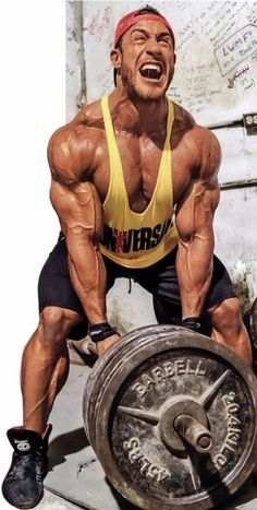 Killin' It In Da Gym - Antoine Vaillant beast mode