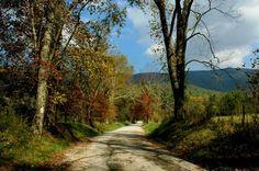 Back road Mountain drive