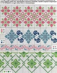 Sampler Vol. 7 - Cross Stitch - Designs By Janet Sansom Cross Stitch Bookmarks, Cross Stitch Borders, Cross Stitch Flowers, Cross Stitch Charts, Cross Stitch Designs, Cross Stitching, Cross Stitch Patterns, Loom Beading, Beading Patterns
