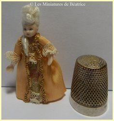 Petite Marie poupée en porcelaine articulée de par Beatrice5804