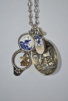 Netherlands+Souvenir+Spoon+Charm+Necklace+by+andthenagaindesigns,+$45.00