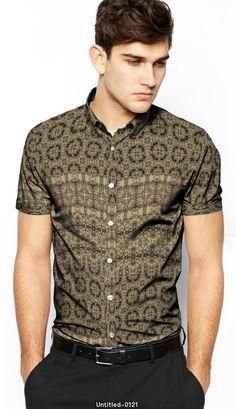 - fabric pattern design Fabric Patterns, Pattern Design, Button Down Shirt, Men Casual, Mens Tops, Shirts, Paradise, Bohemian, Fashion