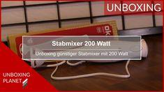 Unboxing eines günstigen Stabmixer mit 200 Watt Leistung #unboxing #günstigerstabmixer #stabmixer #200wattleistung Video News