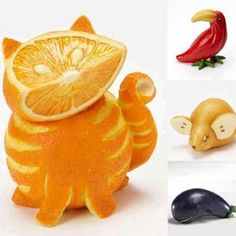 Food Art http://myhoneysplace.com/food-art-pictures/#