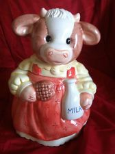 Mccoy Cookie Jars, Cow Ornaments, Salt Shakers, Vintage Cookies, Biscuit Cookies, Cute Cookies, Vintage Glassware, Canisters, Clay Art
