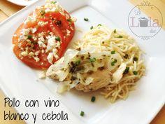 La Lola Dice: Pollo en Vino Blanco y Cebolla