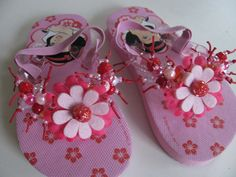 Kinderslippers in maat 24/25 - For a lovely little girl