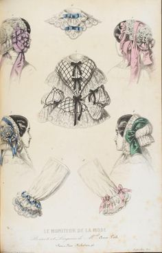 In the Swan's Shadow: Le Moniteur de la Mode, September 1859. Le