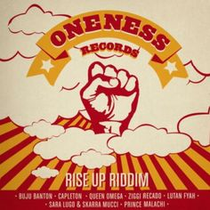 Rise Up Riddim is a brand new reggae juggling from Oneness Records (Munich, Germany), produced by Oneness Band which features Capleton, Buju...