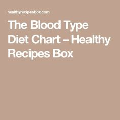 Type O Blood Group Diet Chart Google Search  Tips And Tricks To