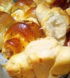 Αλμυρά κρουασανάκια !!! ~ ΜΑΓΕΙΡΙΚΗ ΚΑΙ ΣΥΝΤΑΓΕΣ 2 Pretzel Bites, Brunch, Potatoes, Bread, Vegetables, Breakfast, Food, Essen, Morning Coffee