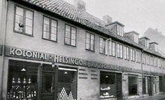 Helsingør Brugsforenings hovedsæde Fiolgade 9 - Helsingør i 1935