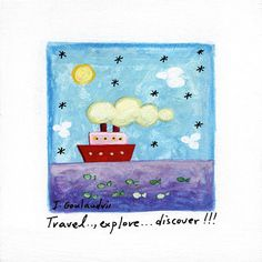 Nursery Art Printable Art Nautical Art Quote Art by AthinArtPrint