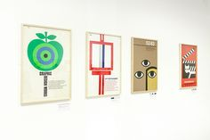 Tom Eckersley: Master of the Poster  | Installation