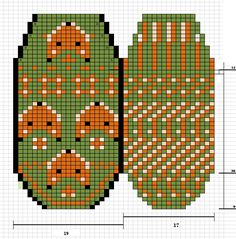 Knitted Mittens Pattern, Knitted Slippers, Knit Mittens, Mitten Gloves, Knitting Socks, Knitting Charts, Knitting Stitches, Knitting Designs, Knitting Patterns