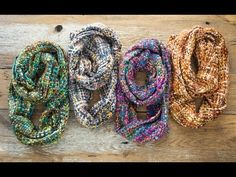 Handwoven Scarves & Ruanas by Rising Tide