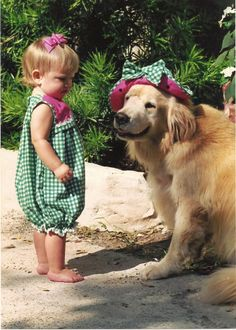 Twins! LOOK AT THE SMILE ON THAT DOG'S FACE *