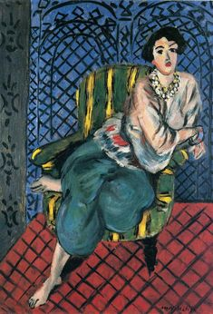 Henri Matisse                                                                     Seated Odalisque, 1926