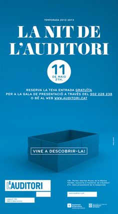 L'Auditori by toormix | #typography