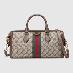 82b2f8eaa8ba Ophidia GG medium top handle bag - Gucci Top Handles & Boston Bags  524532K05NB8745 Gucci Bags