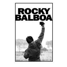 Camiseta Rocky Balboa. Póster Rocky VI