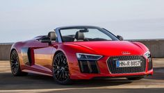 Audi R8 Spyder Priced from $175,100 in the U.S.