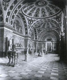 leo von klenze walhalla temple's interior