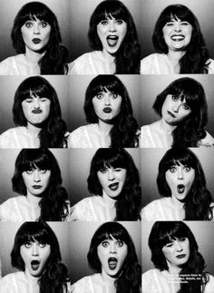 Zooey Deschanel. Was in Elf. Pretty lady & has an amazing singing voice.