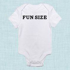 Fun Size Funny Baby Clothes Toddler Clothing Funny by BabeeBees, $15.00