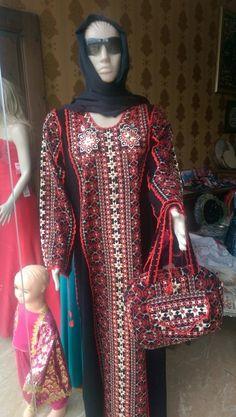 Suriye elbisesi ve çantası