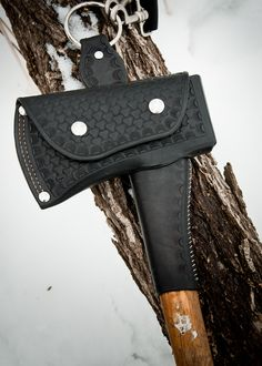 My Hand Made Leather Axe Sheath