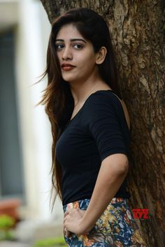 Actress Chandini Chowdary Stills From Howrah Bridge Movie Trailer Launch - Social News XYZ Tamil Actress, Bollywood Actress, Hot Actresses, Indian Actresses, Indian Actress Photos, Beautiful Girl Indian, Lucky Star, India Beauty, Indian Girls