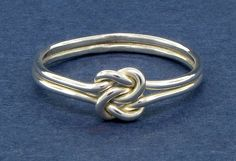 $30.00 I need this ring in my life so much!  :(  Double love knot ring sterling silver