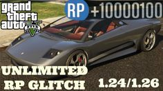 GTA 5 Online: Unlimited RP Glitch After Patch 1.24 & 1.26! Rank Up Fast ...