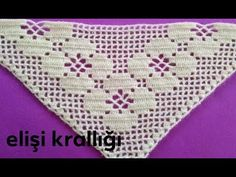 Filet Crochet, Crochet Shawl, Crochet Stitches, Easy Knitting Patterns, Crochet Patterns, Crochet Collar Pattern, Knitted Shawls, Free Pattern, Blanket